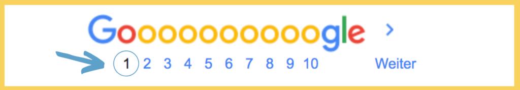 Google Seite 1