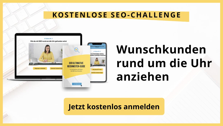 SEO Challenge Wunschkunden mit der Website anziehen
