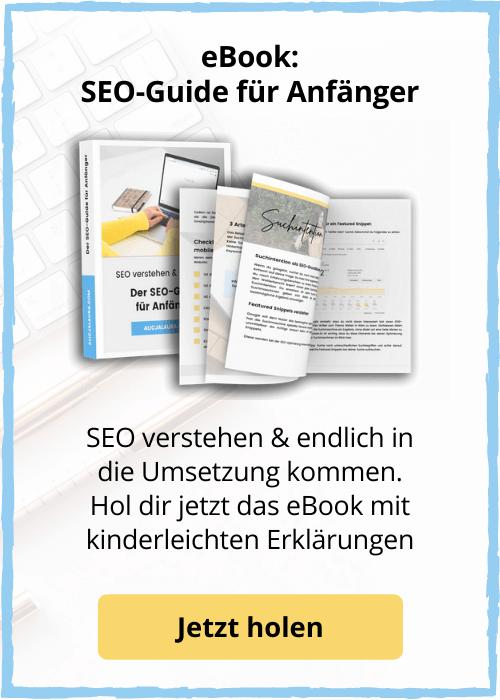 SEO eBook für Anfänger